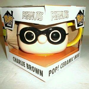 Funko Pop Peanuts Charlie Brown Mug - New in box